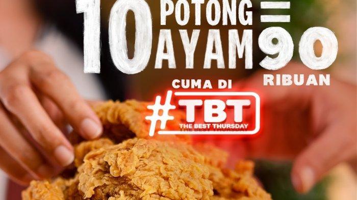 BERLAKU HARI INI! Promo KFC 7 Oktober, 10 Potong Ayam Hanya Rp90 Ribuan & Nyemil Mulai Rp4 Ribuan