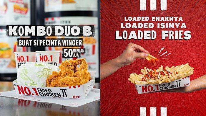 PROMO KFC Minggu 10 Oktober 2021: Kentang Goreng dengan Toping Gurih Rp38 Ribuan, Paket Hemat Winger
