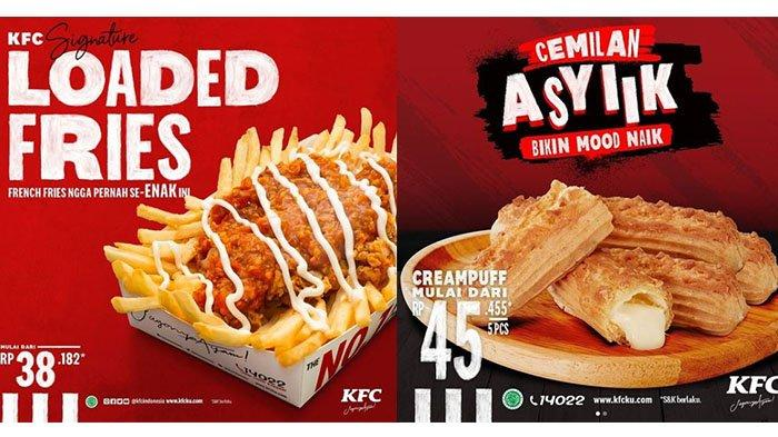PROMO PPKM KFC Terbaru 15 Juli 2021: Loaded Fries, Kentang dengan Topping Super Lezat Rp39 Ribuan