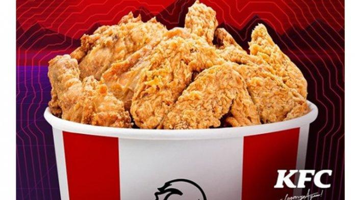 TERBARU Promo KFC Kamis 6 Mei 2021, 10 Potong Ayam Goreng Mulai Rp 90 Ribu