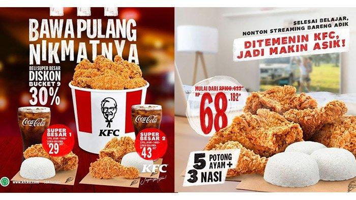 PROMO KFC Masih Ada Hingga 31 Maret 2021, Paket Super Besar Hanya Rp 29 Ribuan
