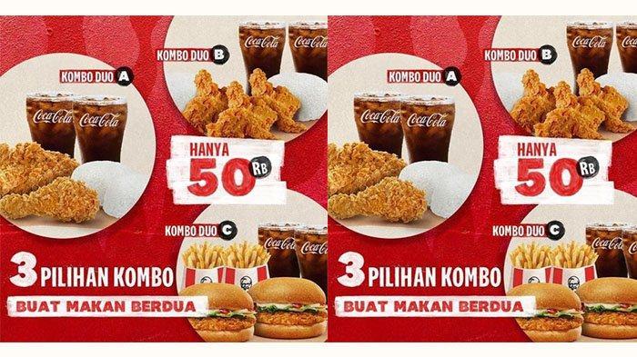 Promo KFC di September 2021: Makan Puas Dengan Rp50 Ribuan Hingga Kombo Duo Dengan Pilihan Paket