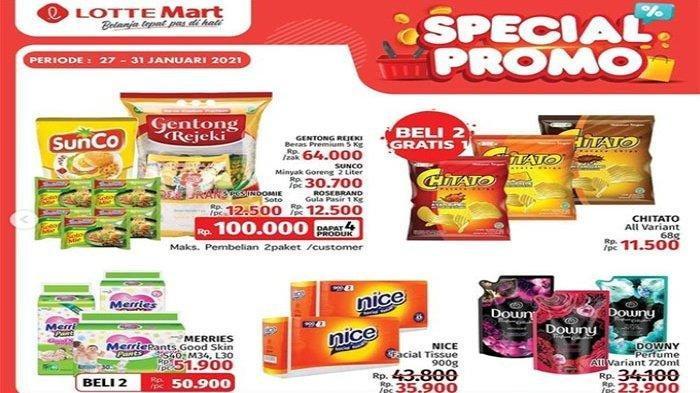 Promo Lotte Mart Weekend, Diskon Minyak Goreng hingga Beli 2 Gratis 1