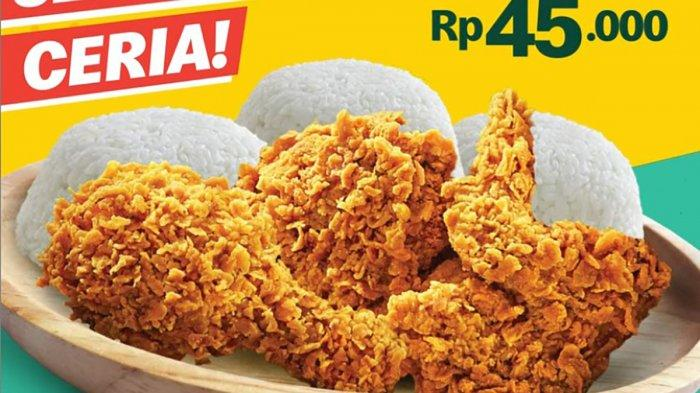 PROMO McDonald's 17 – 21 September 2021, 3 Ayam 3 Nasi Hanya Rp 45.000, Menu Receh, Es Kopi Kelapa