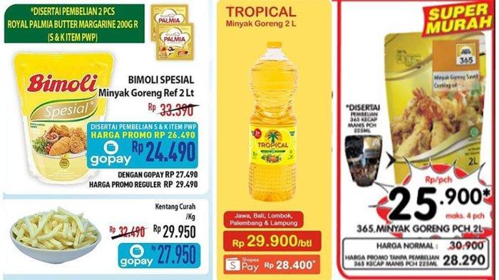 PROMO Minyak Goreng Murah 14 Oktober 2021 di Alfamart, Indomaret, Superindo, dan Hypermart