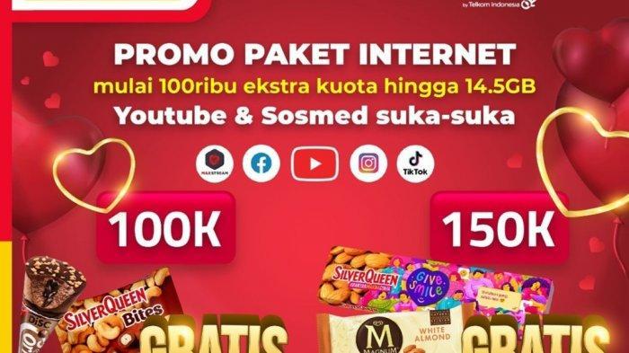 Promo Cokelat Valentine di Alfamart 14 Februari 2021, Beli Paket Internet Gratis Cokelat