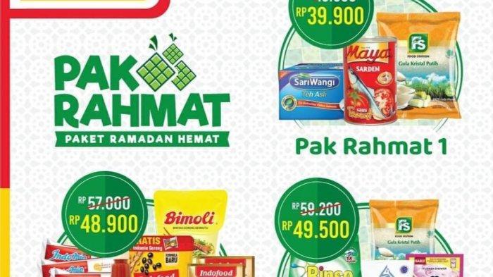 TERBARU, Promo Alfamart 3 April 2021, Paket Ramadhan Hemat Diskon hingga 20%, Alfamart Sirup Rp4.400
