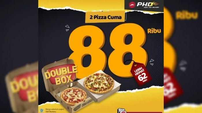 Promo Pizza Hut Delivery 17 Februari 2021, Anda Bisa Mendapatkan Double Box Classic Pizza Rp 88.000