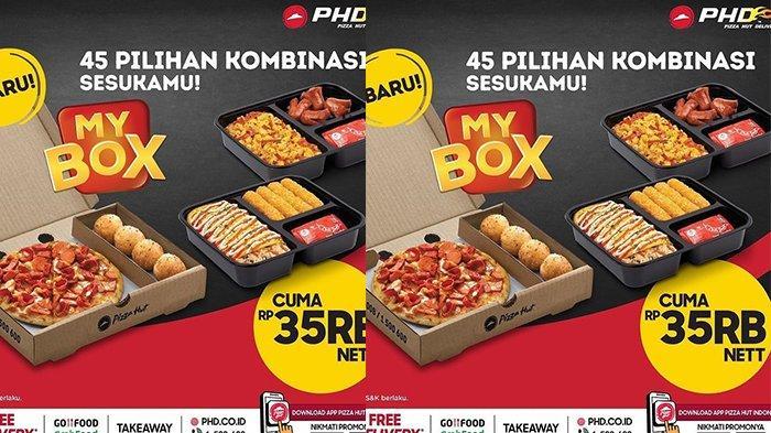PROMO Pizza HUT Kamis 3 Juni 2021, 45 Macam Kombinasi Pizza, Pasta atau Nasi Plus Topping Rp 35 Ribu