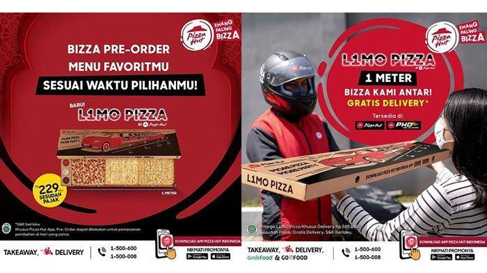 BARU! Promo Pizza Hut 2 Juni 2021, Pizza 1 Meter Rp 229.000, Dapat Dinikmati Untuk 6-8 Orang
