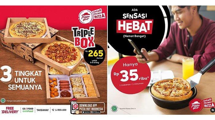 BARU! Promo PIZZA HUT Hari Ini 11 Juni 2021: Rp265 Ribu Bisa untuk 8 Orang, Makan Sendiri Rp35 Ribu
