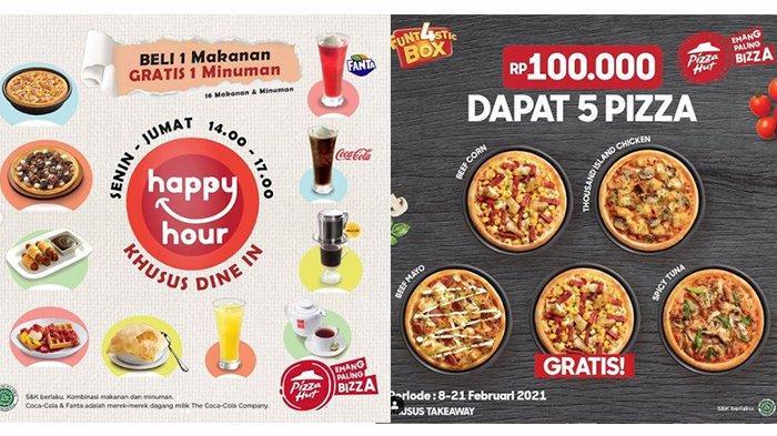 Promo Pizza Hut 16 Februari 2021, Ada Fun Box Dan 5 Kotak Pizza Hanya Rp 100 Ribuan