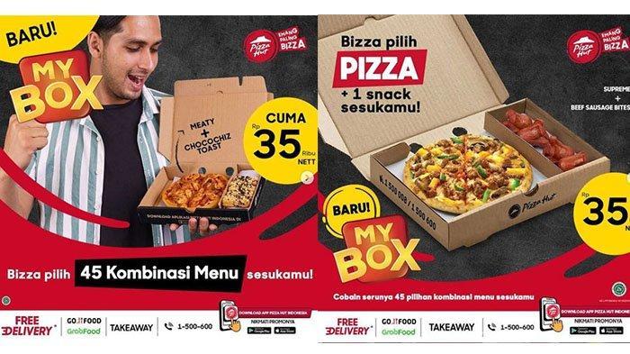 PROMO PIZZA HUT Terbaru Hari Ini 3 Juni 2021: Beli 1 Pizza/Pasta/Nasi + 1 Snack Cuma Rp 35 Ribu