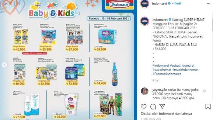 Promo Indomaret Mingguan Terbaru Belum Terbit, Diskon Popok Bayi Mulai Rp 33 Ribuan Masih Berlaku