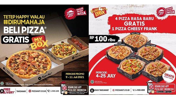 Jangan Ketinggalan Promo Pizza Hut Hari Ini 14 Juli 2021, Beli 5 Pizza Hanya Bayar Rp 100.000
