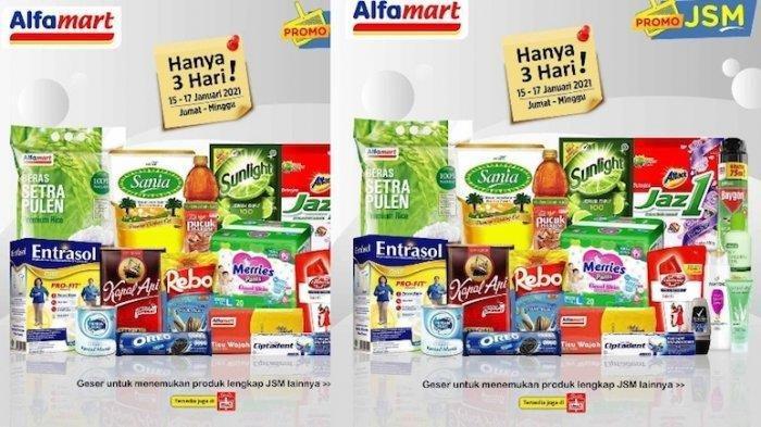 Promo JSM Alfamart 16 Januari 2021, Minyak Goreng, Beras hingga Kopi Masih Diskon