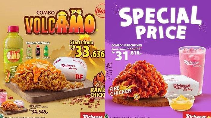 Promo Richeese Factory TERBARU 21-30 Juni 2021, Combo Volcamo dan Special Price Cuma Rp 30 Ribuan