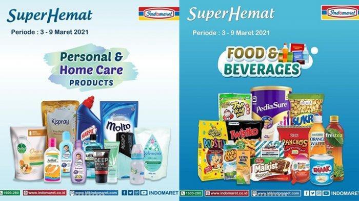 Promo Super Hemat TERBARU 3-9 Maret 2021, ada gratisan minyak goreng, susu murah beli 2 lebih hemat.