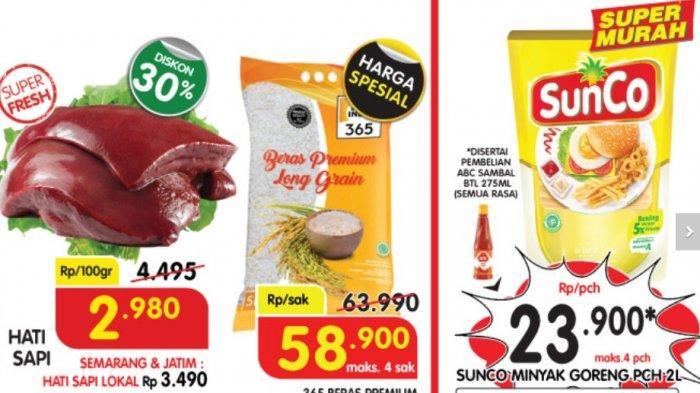 PROMO SUPERINDO 12 Mei 2021, Minyak Goreng Rp 23 Ribuan, Daging Diskon 20%, Buah Segar Diskon 30%