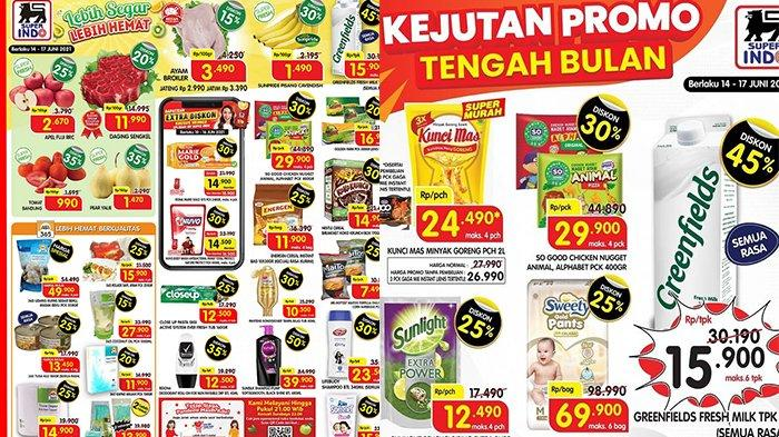 Promo Superindo 15 Juni 2021, Promo Daging, Gula Pasir, Diapers hingga Camilan, Sampo Diskon 50%