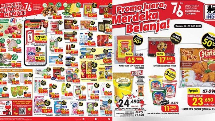 Promo Superindo 17 Agustus 2021, Snack, Es Krim Diskon 30%, Daia 850Gr Rp 13 Ribuan,Popok Murah