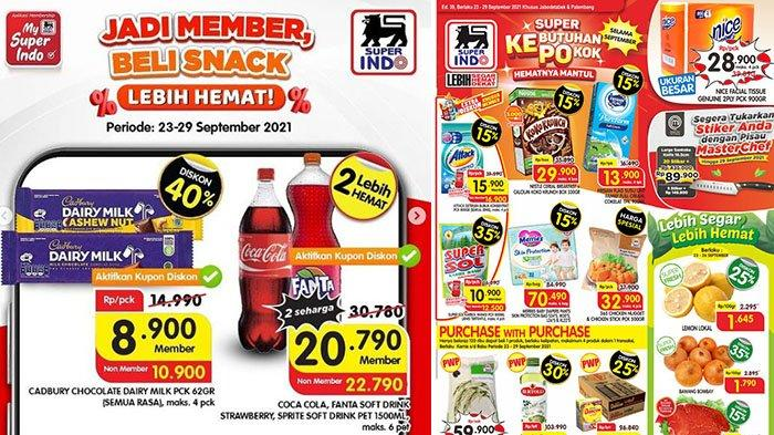 PROMO Superindo 24-29 September 2021: Cadbury DairyMilk Disc40%, FrisianFlag Purefarm 900ml Rp13.900