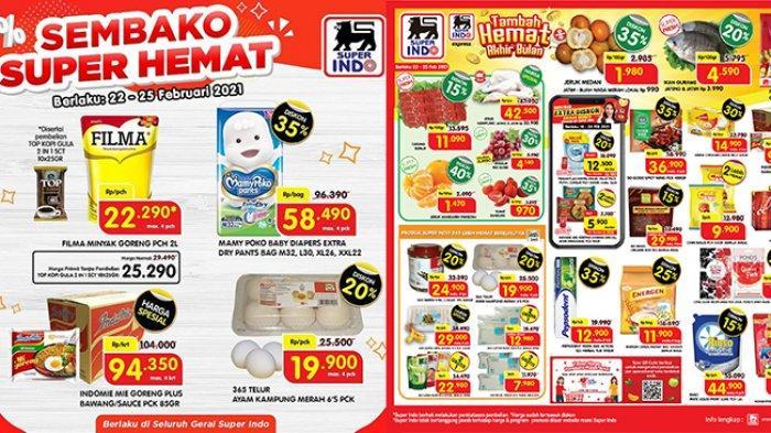 Promo Superindo 24 Februari 2021, Sembako Super Hemat, Minyak Goreng Rp 22 Ribuan, Telur Diskon 20%