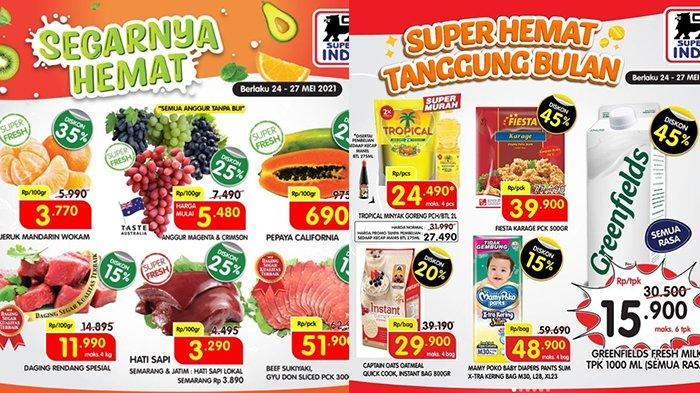 Promo Superindo 26 Mei 2021, Daging Rendang Rp11.990, Bawang Merah Rp2.990, Detergen Diskon 25%