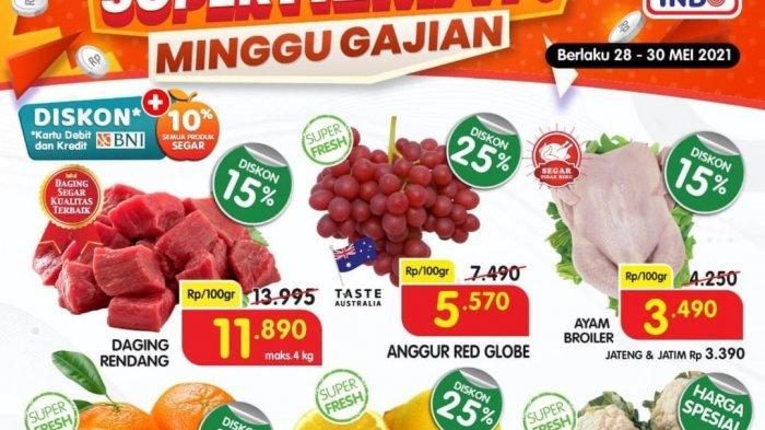 Promo Superindo 30 Mei 2021, Minyak Goreng 24.790, Buavita 1L 20.900, Buah-buahan Diskon 40%