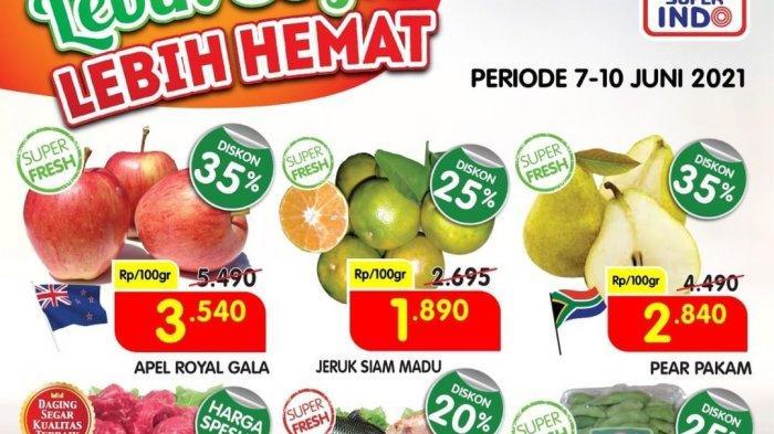 Promo Superindo 9 Juni 2021, Buah-buahan Diskon 35%, Minyak Goreng Rp23.990, Daging Rp11.890/100gram