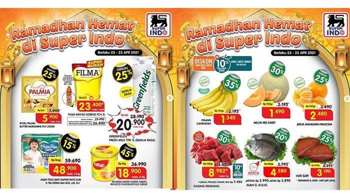 Promo Superindo BERAKHIR HARI INI 25 April 2021: Minyak Goreng 2L Rp23 Ribuan, Buah & Daging Diskon