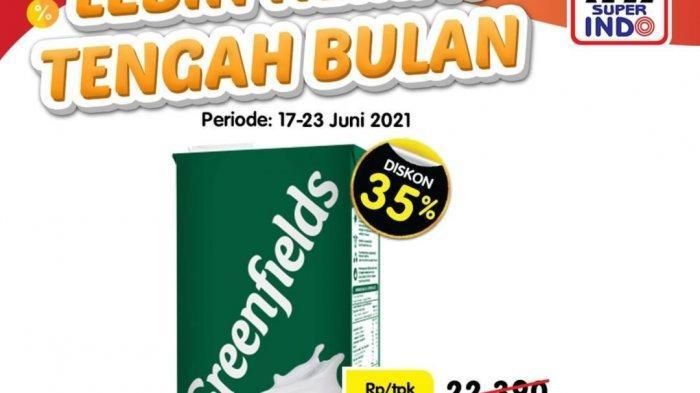Promo Superindo Besok 21 Juni 2021, Sosis Jumbo 22.900, Susu UHT 14.500, Cemilan Diskon hingga 35%