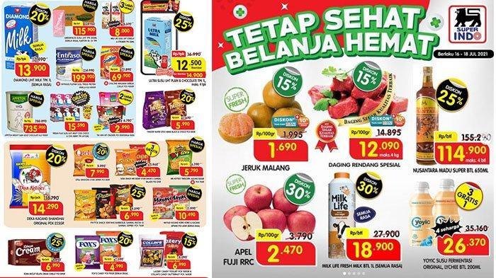 PROMO Superindo Hari Ini 17 Juli 2021: Belfoods Chicken Nugget Rp24.900, Snack Qtela-Piattos Diskon