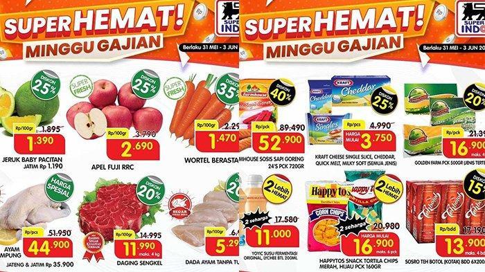 Promo Superindo 2 Juni 2021, Ayam Kampung Rp35.900, Snack Beli 2 Lebih Hemat, Popok Diskon 20%