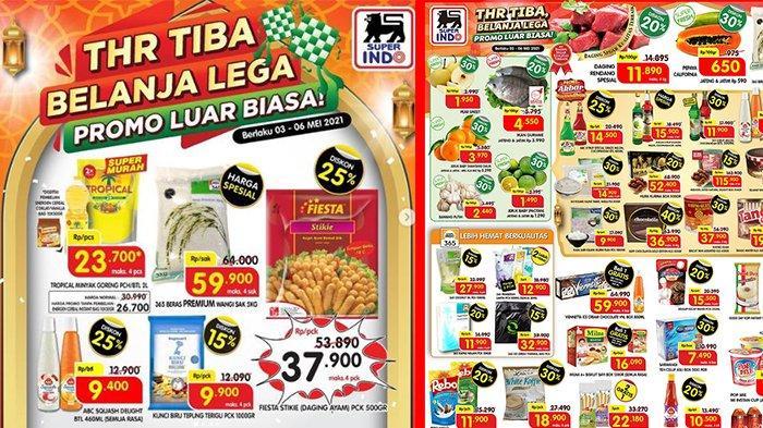 TERBARU Promo Superindo 3 Mei 2021: Gurame & Daging Rendang Diskon 20%, Minyak Goreng 2L Rp23 Ribuan