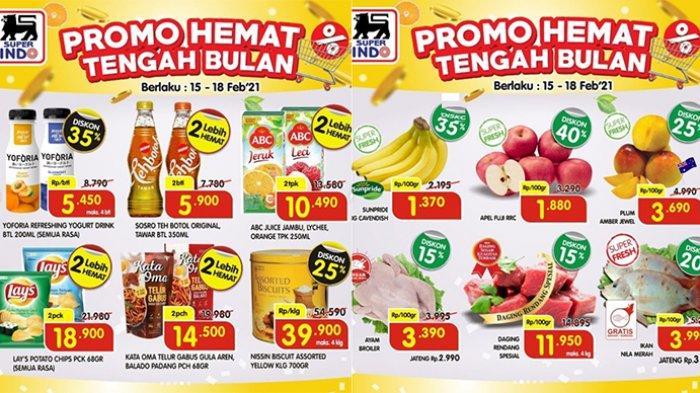 Promo Superindo Hari Ini 17 Februari 2021, Minyak Goreng Super Murah Rp21.990, Daging Harga Spesial