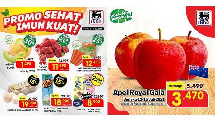 PROMO Superindo Hari Selasa 13 Juli 2021:Downy 1550ml Rp38.900, Melon Super, Apel, Rendang Diskon