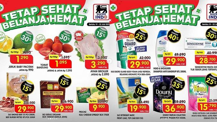 PROMO SUPERINDO 22 Juli 2021, Yogurt Beli 2 Gratis 1, Rinso Deterjen Cair Diskon 25%