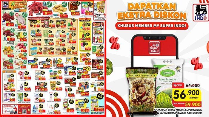 Promo Superindo TERBARU 10-11 Mei 2021, Minyak Goreng 2L Rp23.900, Hati Sapi, Snack, Buah Diskon 45%