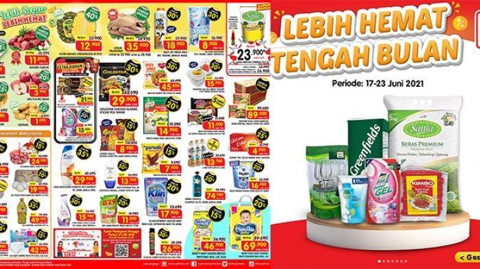 Promo Superindo TERBARU 21-24 Juni 2021, Minyak Goreng Sania 2L Rp23.900, Sabun, Sosis Diskon 45%