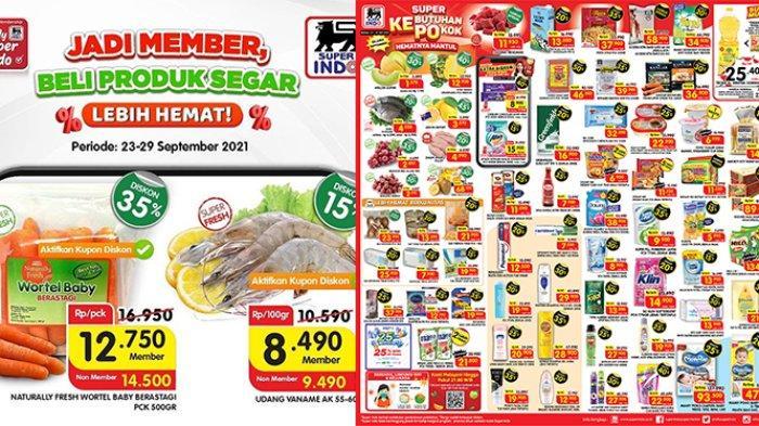 Promo Superindo TERBARU 27 - 30 September 2021, Minyak Goreng 2L Rp25.400, Sosis Kimbo Diskon 50%