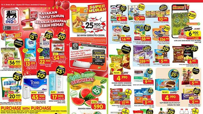 PROMO Superindo TERBARU 29 - 31 Juli 2021: Diamond Juice 946ml Diskon 35%, Minyak Goreng 2L Rp25.900