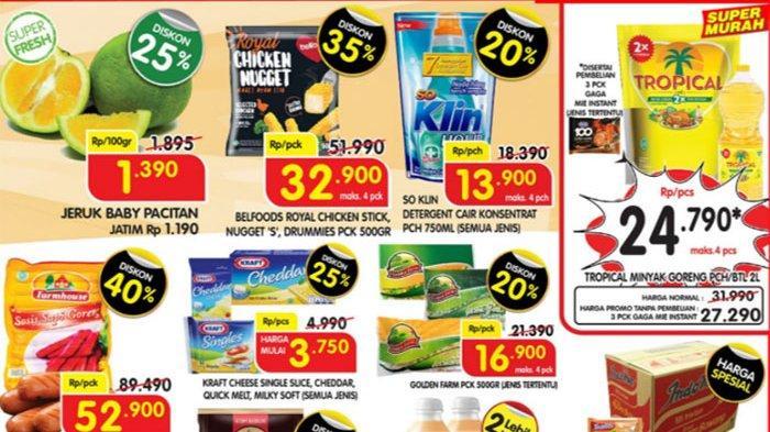 Promo Superindo 31 Mei 2021, Buah dan Sayuran Segar Diskon 35%, Daging, Sarden Super Hemat