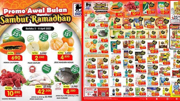 Promo Superindo Weekdays 6 April 2021, Sambut Ramadhan Diskon Daging Ayam, Sirup, Biskuit, Mie, Kopi