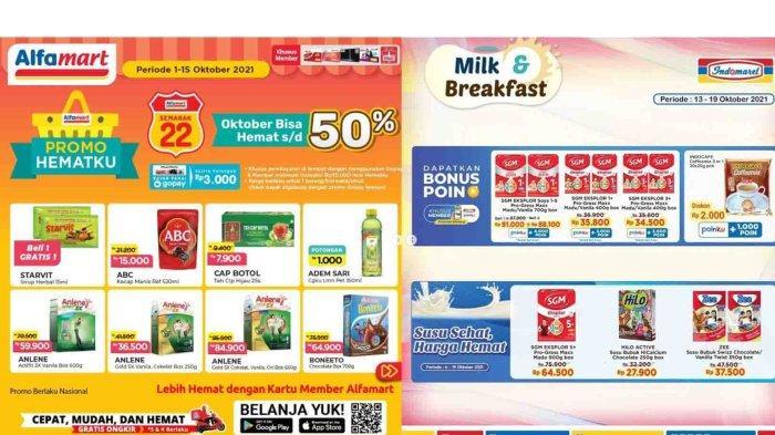 TERBARU, Promo Susu Formula di Indomaret dan Alfamart Hari Ini 13 Oktober, SGM Mulai Rp 34.500