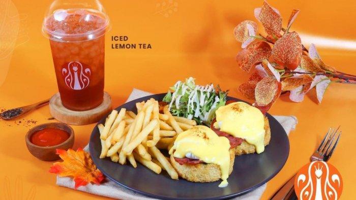 Promo Terbaru J.CO Hari Ini 8 September 2021, Beli J.CO Eggs Benedict dan Gratis Iced Lemon Tea