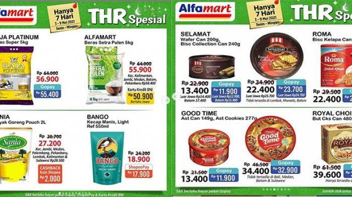 Promo Alfamart Spesial Ramadan 4 Mei 2021, Beras 5 Kg Rp50.900, Minyak Goreng, Biskuit Rp11 Ribuan