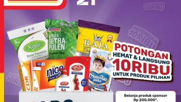 Promo Spesial 21 Tahun Alfamart, Beli 2 Gratis 1 dan Potongan Harga Rp10.000, Mulai Berlaku Hari Ini