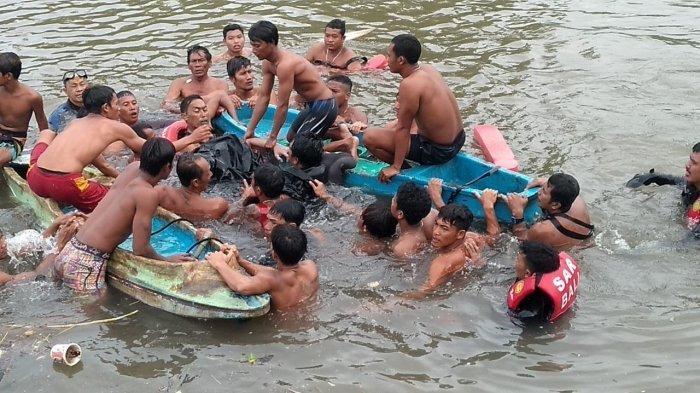 Korban Terseret Arus di Sungai Sangsang Pantai Siyut Gianyar Ditemukan di Kedalaman 5 Meter
