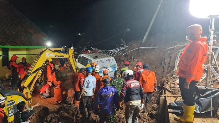 11 Warga Meninggal, Termasuk Danramil Kapten Setio Pribadi Saat Bencana Tanah Longsordi Cihanjuang